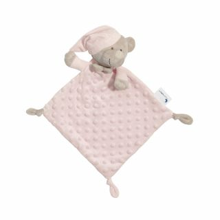 Interbaby Подаръчен сет ДуДу Играчка за гушкане и приспиване розово Мече