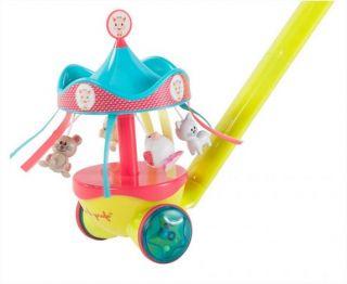 Софи жирафчето и приятели играчка за бутане и разходка