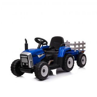 Chipolino Електрически Трактор с ремарке, син