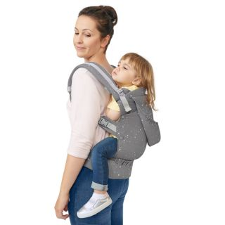 Ергономична раница KinderKraft HUGGY, Звездички