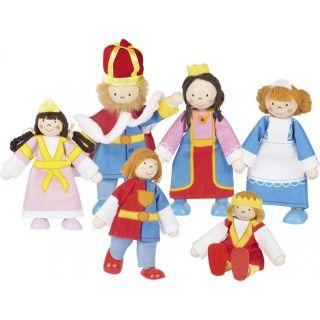 Goki Гъвкави кукли кралско семейство