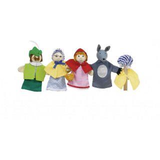 Goki Кукли за пръсти - Червената шапчица