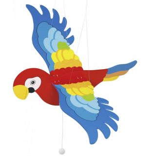 Goki Висяща декорация за детска стая папагал