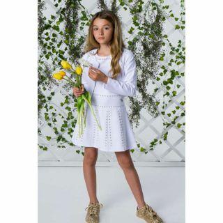 Guess детска бяла рокля