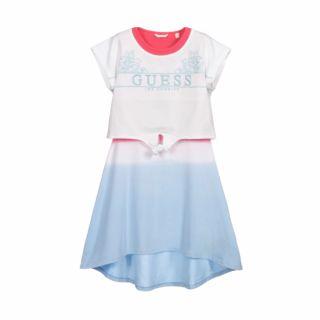 GUESS Детска лятна рокля в преливащи цветове