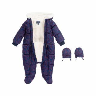 Guess космонавт за новородено с надписи Guess