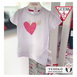 Guess комплект за момиче - клин и тениска