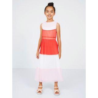 Guess Marciano детска дълга рокля от шифон
