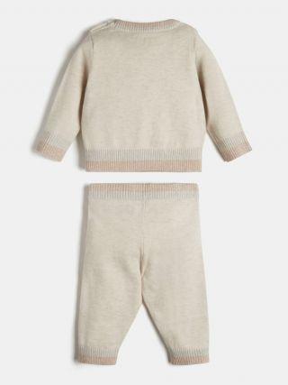 Guess Бебешка пухена рокля с гащички Mint
