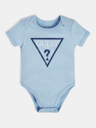 Бебешко синьо боди за момче Smart Guess