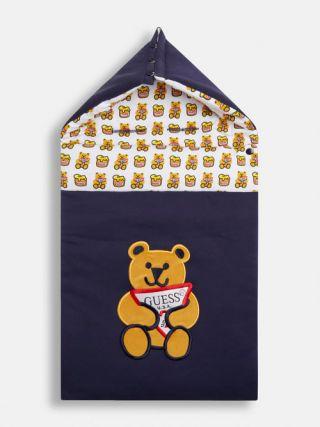 Guess Бебешко чувалче за количка Bear