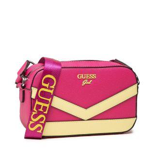 Guess детска чанта за момиче с надписи, JORJA