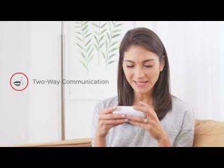 Motorola видео бебефон MBP483