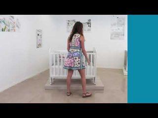 Interbaby Система Next to me за Детско креватче Lovely (60x120см)