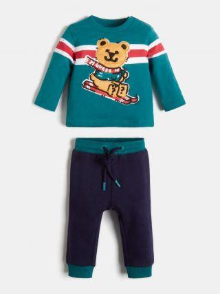 Guess Спортен комплект 2 части за момче Bear
