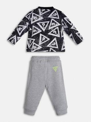 Guess Бебешки комплект за момче блуза и панталон, 2 части