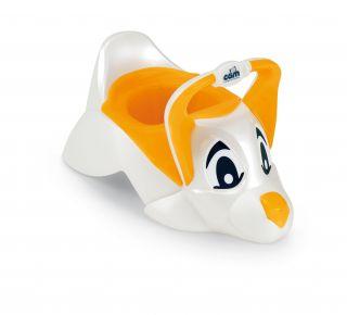 CAM Бебешко гърне DUDU кученце, оранжев