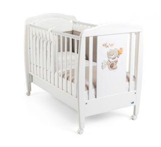 CAM Бебешко легло Мече бяло