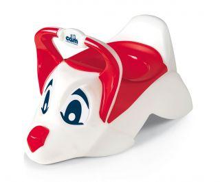 CAM Бебешко гърне DUDU кученце, червен