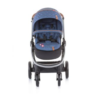 Chipolino Бебешка количка Према 3 в 1 деним