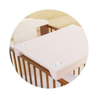 Berber подложка за повиване със система за захващане към легло, 50х70см, Бухалчета, син