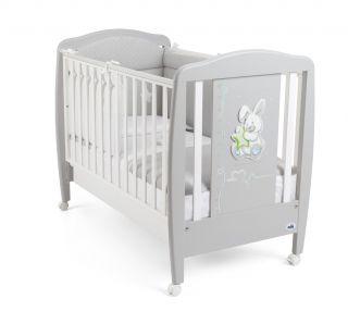 CAM Бебешко легло Зайче сиво