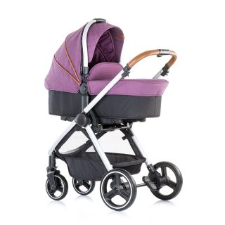 Chipolino Бебешка количка Према 3 в 1 аметист