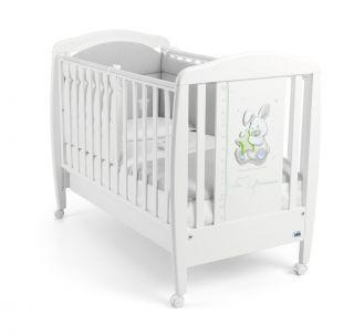 CAM Бебешко легло Зайче бяло