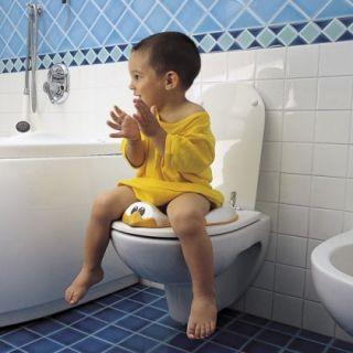 OkBaby Детска седалка за тоалетна чиния ДУКА 12м+ т.син