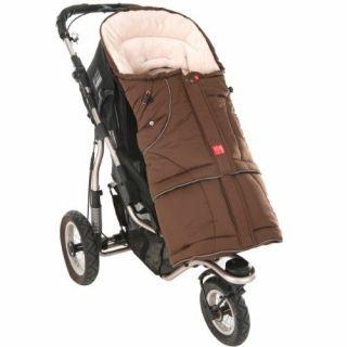 Kaiser Мултифункционално 2в1 чувалче за детска количка/столче за кола, 48x105см, кафяв