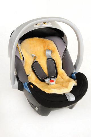 Kaiser Детски термочувал за количка с отделяща се подложка от овча кожа, Sheepy Brown