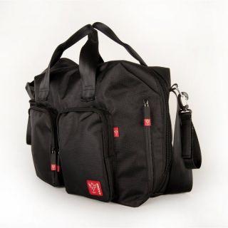Кaiser черна чанта за количка с подложка за преповиване Worker