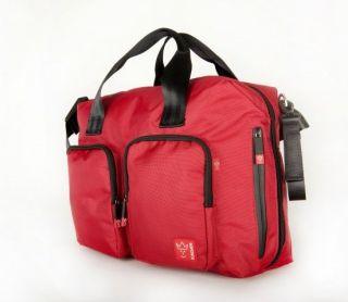 Кaiser червена чанта за количка с подложка за преповиване Worker