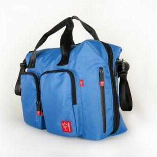 Кaiser синя  чанта за количка с подложка за преповиване Worker