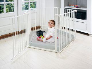 Бебешка бяла кошара BabyDen