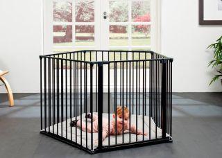 Бебешка черна кошара BabyDen