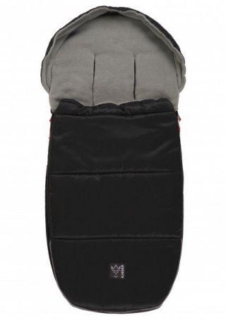 Kaiser Premium Детски термочувал за количка, 99х45см, Louis , черен