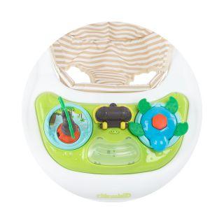 Chipolino Музикална бебешка проходилка 3 в 1 Джоли лайм слонче