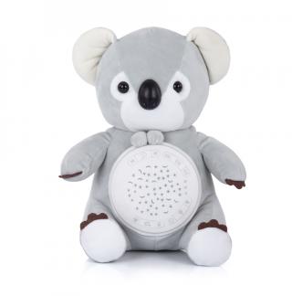 Chipolino Успокояваща плюшена играчка с проектор и музика Коала
