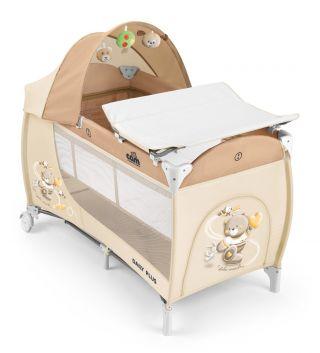 Бебешка кошара за спане и игра с повивалник и сенник | CAM