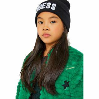 Guess шапка с лого за момиче
