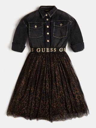 guess детска рокля тюл