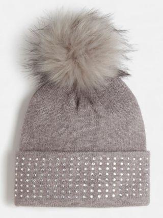 Guess шал и шапка за момиче