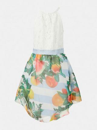 Guess детска рокля Дантела