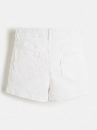 Guess детски бели къси панталони