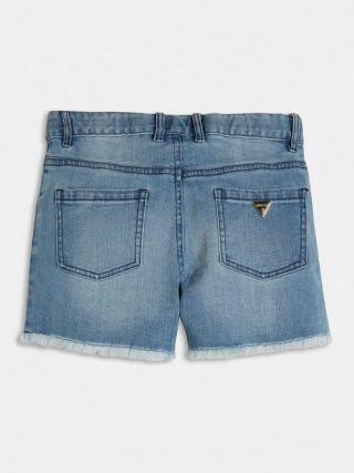 Guess детски къси панталони с камъни