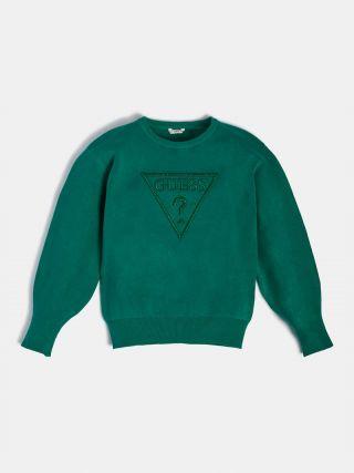 Guess пуловер за момиче с фронт лого