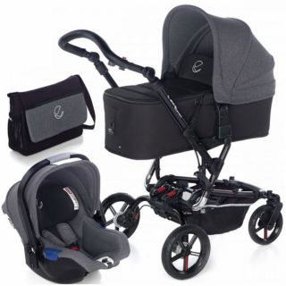 JANE детска количка 3в1 EPIC FORMULA KOOS I-SIZE MICRO Jet Black