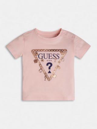 Guess детска тениска с лого