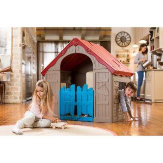 Keter Wonderfold сгъваема пластмасова къща за игра